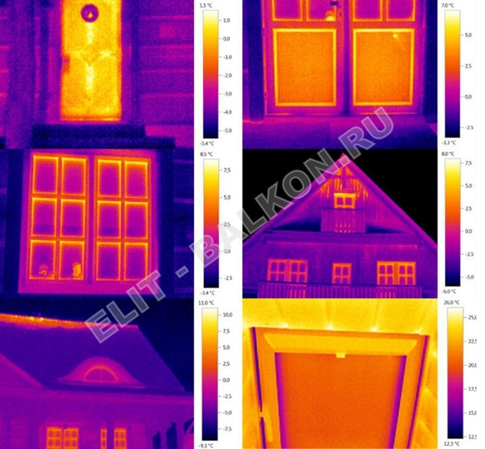 3 Obsledovanie teplovizorom kvartir domov ElitBalkon 2016 3 - Обследование домов загородных тепловизором