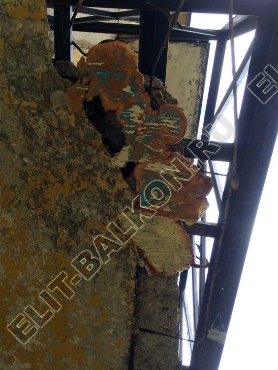 Балкон без остекления