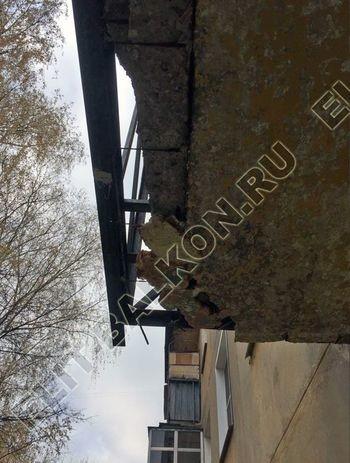 ukreplenie52 387x291 - Укрепление балконной плиты и парапета. Фото одного балкона.