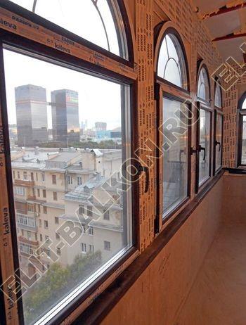 Фото остекления одного балкона № 5