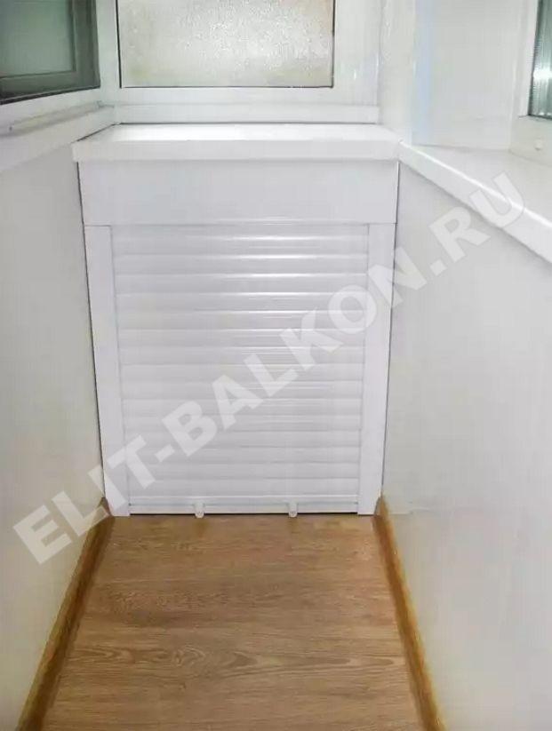 MEBEL NA BALKON SHKAF ROLSTAVNI 1 - Шкаф на балкон фасад рольставни