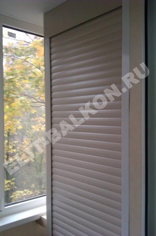 MEBEL NA BALKON SHKAF ROLSTAVNI 2 - Шкаф на балкон фасад рольставни