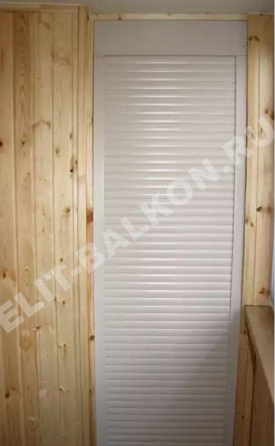 MEBEL NA BALKON SHKAF ROLSTAVNI 3 - Шкаф на балкон фасад рольставни