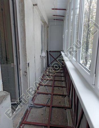 Фото остекления одного балкона № 6