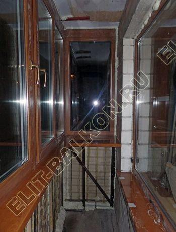 Фото остекления одного балкона. Новочеремушкинская