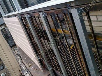 Фото остекления одного балкона. № 8