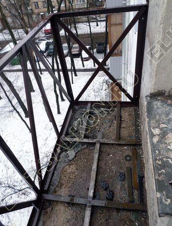 ukreplenie parapeta balkona1 387x291 - Укрепление балконного парапета под остекление ПВХ. ул. Черкизовская