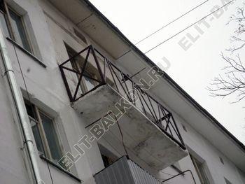 Укрепление балконного парапета под остекление ПВХ. ул. Черкизовская