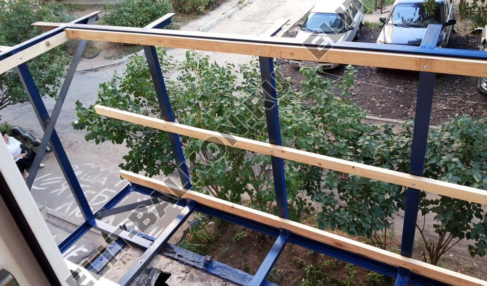 balkon 6 - Вынос балкона по полу