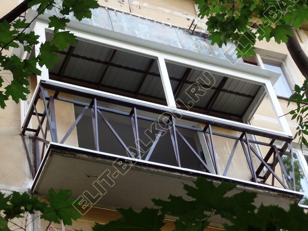 Вынос балкона от пола
