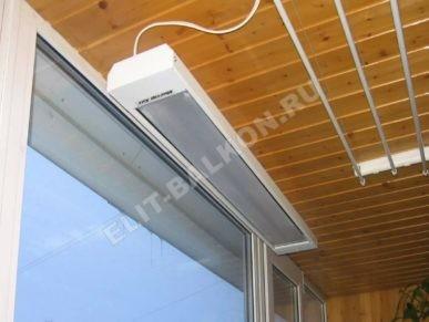3 obogrevatel dlya balkona elektricheskiy infrakrasniy potolochniye 1 387x291 - Обогреватели на балкон: как не ошибиться с выбором?