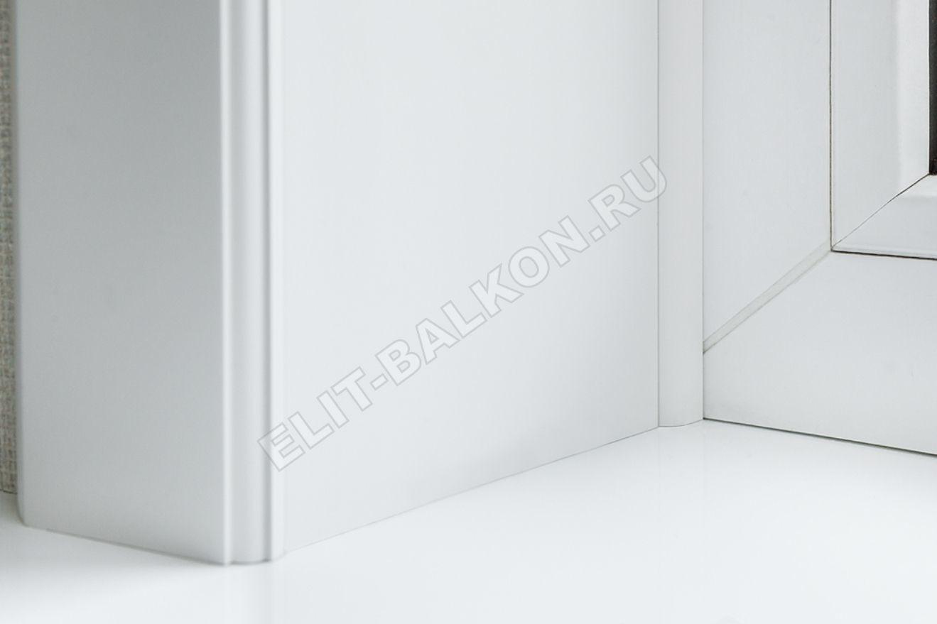Vnutrennie otkosy na okna PVH QUNELL TSVET BELYJ 1 15 1 - Внутренние откосы «Qunell» на окна ПВХ