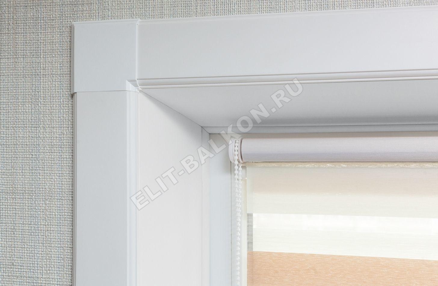 Vnutrennie otkosy na okna PVH QUNELL TSVET BELYJ 1 17 1 1 - Внутренние откосы «Qunell» на окна ПВХ