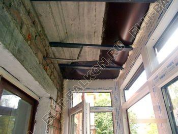 Фото остекления одного балкона № 13