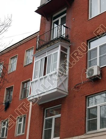 okna elinbalkon95 387x291 - Фото остекления одного балкона № 11