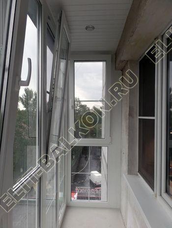 Фото остекления одного балкона № 12