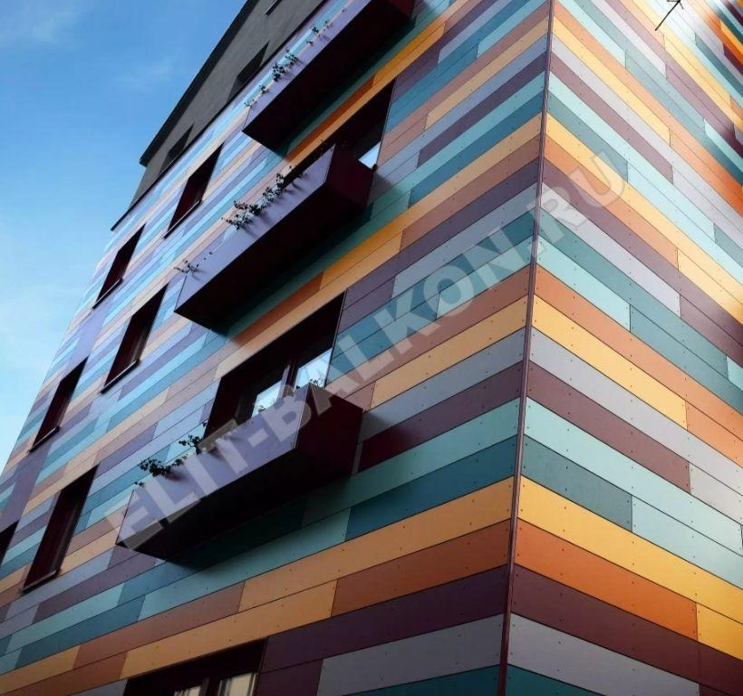 1 otdelka balkonov i lodzhij vneshnyaya obshivka aluminij kompozit 6 - Обшивка балкона алюминиевым композитом
