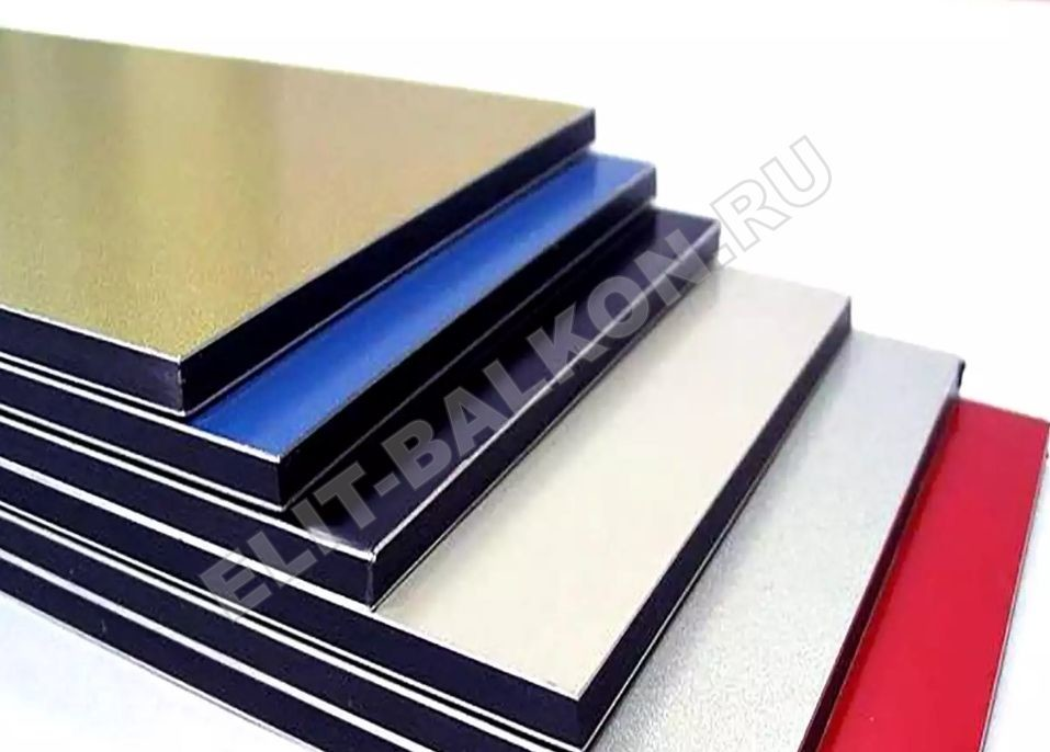 Обшивка алюминиевый композит