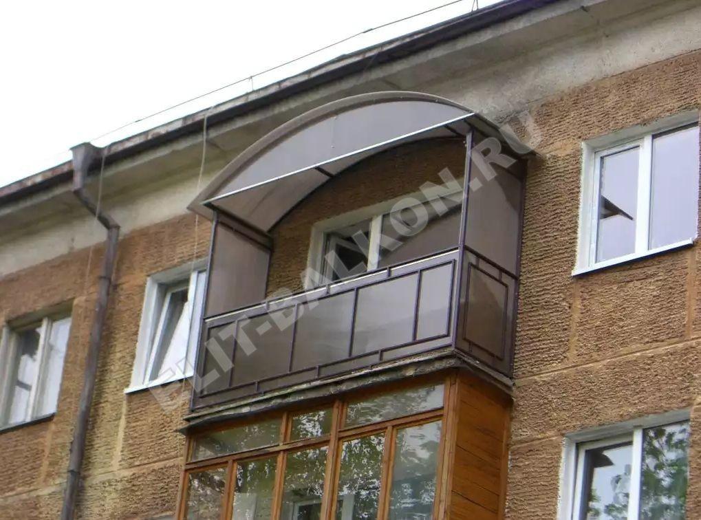 1 vneshnyaya obshivka polikarbonatom sotovym 3 - Обшивка поликарбонатом сотовым