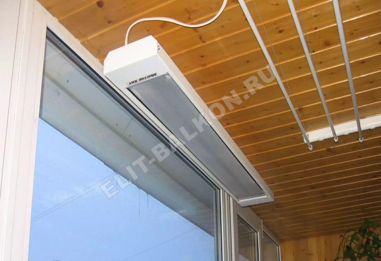 3 obogrevatel dlya balkona elektricheskiy infrakrasniy potolochniye 1 - Инфракрасный потолочный обогреватель на балкон