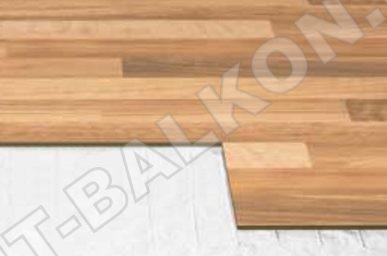 8 Teplyj pol ultratonkij rulonnyj pod laminat MDF PVH Foto 8 387x256 - Теплый пол на балконе и лоджии
