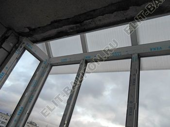 Krysha iz polikarbonata na balkone 10 387x291 - Крыша на балкон из поликарбоната