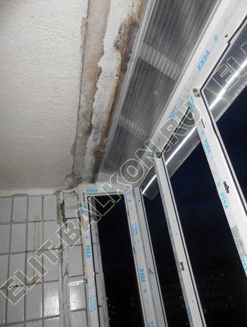 Крыша на балкон из поликарбоната