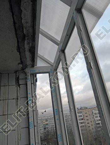 Krysha iz polikarbonata na balkone 7 387x291 - Крыша на балкон из поликарбоната