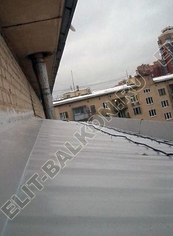 Фото остекления одного балкона № 14
