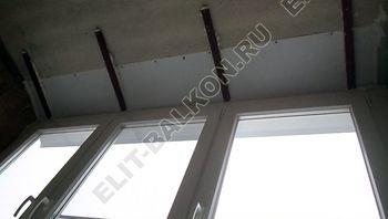 Фото остекления одного балкона № 16