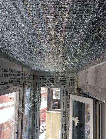 Фото остекления одного балкона № 18