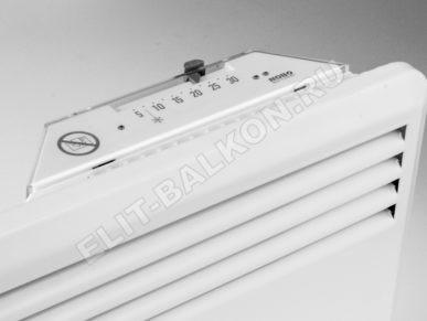10 Obogrevatel dlya balkona elektricheskij NOBO 1 2KV 387x291 - Обогреватель для балкона электрический NOBO