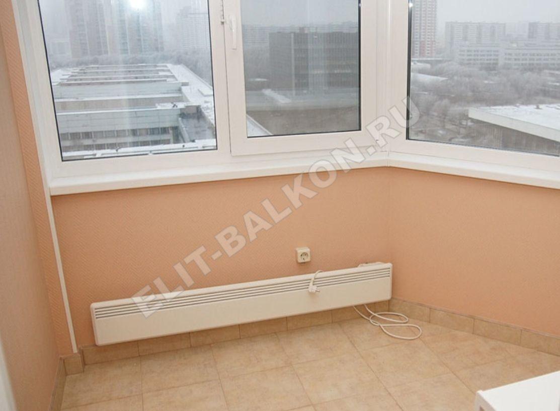 Тёплый пол на балконе от батареи своими руками