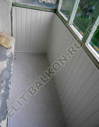 Фото остекления одного балкона № 19