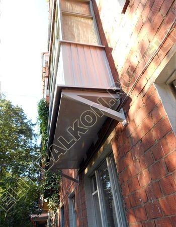 ukreplenie balkona elinbalkon6 387x291 - Фото остекления одного балкона № 19