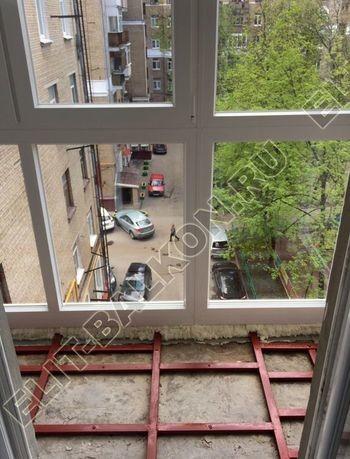 ukreplenie pod frantsuzskoe osteklenie ot pola do potolka s vynosom po perimetru8 387x291 - Фото остекления одного балкона № 20