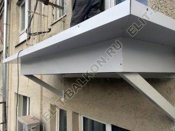 ukreplenie s vynosom po perimetru6 387x291 - Фото остекления одного балкона № 22