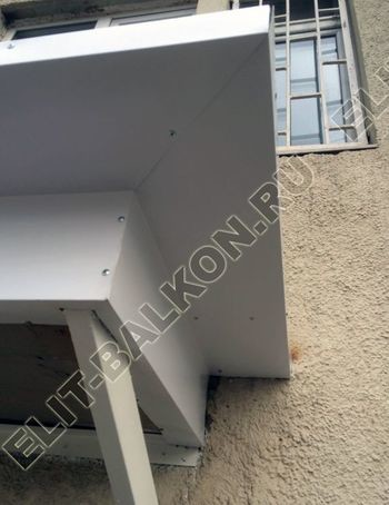 ukreplenie s vynosom po perimetru9 387x291 - Фото остекления одного балкона № 22