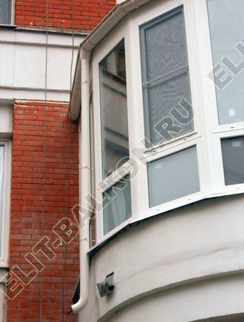 Krysha na balkone iz ondulina2 387x291 - Фото остекления одного балкона № 23