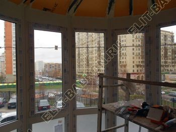 Krysha na balkone iz ondulina9 387x291 - Фото остекления одного балкона № 23