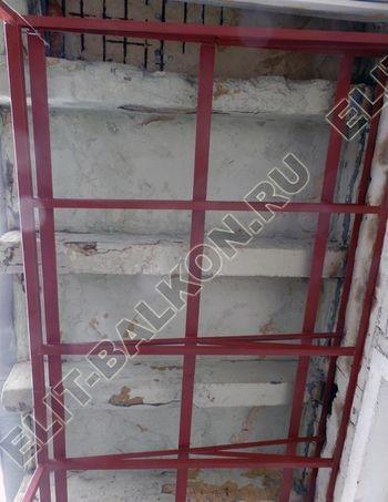 Krysha na balkone falshkrovlya 2 387x291 - Фото остекления одного балкона № 24