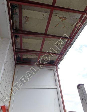 Krysha na balkone falshkrovlya 4 387x291 - Фото остекления одного балкона № 24