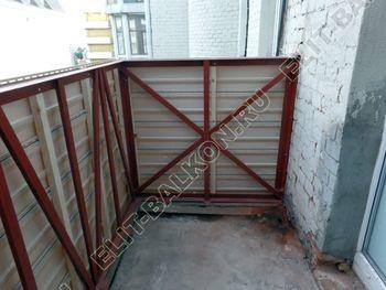osteklenie balkona PVH s kryshej 10 387x291 - Фото остекления одного балкона № 27