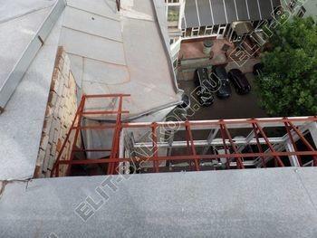 osteklenie balkona PVH s kryshej 14 387x291 - Фото остекления одного балкона № 27
