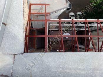 osteklenie balkona PVH s kryshej 15 387x291 - Фото остекления одного балкона № 27