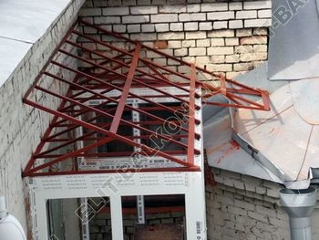 osteklenie balkona PVH s kryshej 17 387x291 - Фото остекления одного балкона № 27
