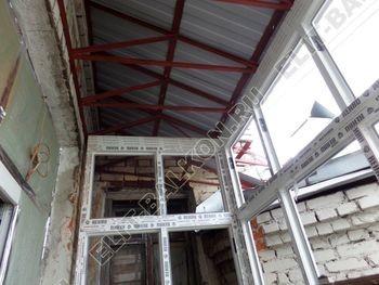 Фото остекления одного балкона № 27