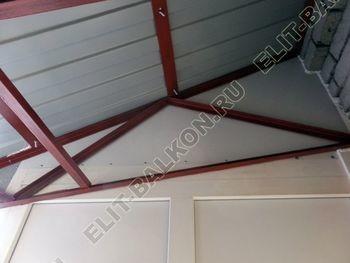osteklenie balkona PVH s kryshej 26 387x291 - Фото остекления одного балкона № 27