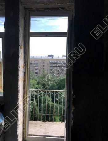 osteklenie balkona ot pola do potolka i kovanaja reshetka 5 387x291 - Фото остекления одного балкона № 26