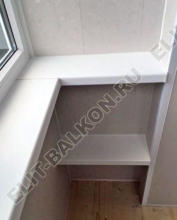 Фото остекления одного балкона № 32
